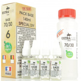 Pack Base 140ml 70/30 06mg Extrapure