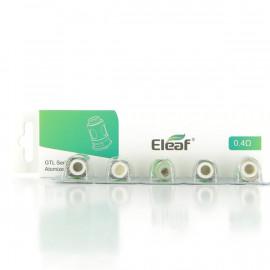 Pack de 5 résistances GTL 0.4ohm Eleaf
