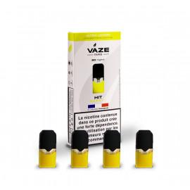 Pack de 4 Pods de 0,75ml Ultra Lemon Vaze Vape 20mg
