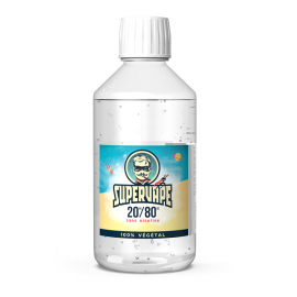 Base 1L 20/80 00mg SuperVape
