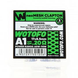 Pack de 5 NexMesh Clapton A1 0.2ohms Wotofo