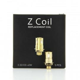 Pack de 5 résistances Z Coil 0.3ohm Innokin