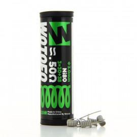Pack de 5 coils Alien Wires Ni80 0.5ohm Wotofo
