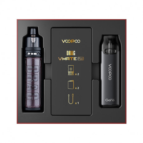 Pack Drag S + Vmate Pod Edition Limitée Voopoo