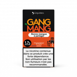 Pack de 4 Pods de 1ml Gang Mang W Pod ( W Cig)
