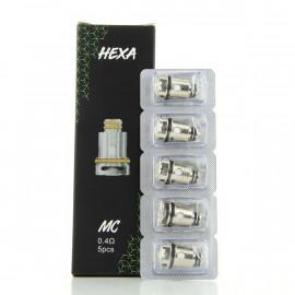 Pack de 5 résistances HM 0.17ohm Hexa