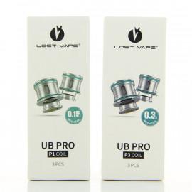 Pack de 3 résistances UB Pro Lost Vape