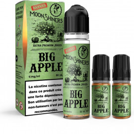 Big Apple Easy2Shake 50/50 03mg 50ml Moonshiners
