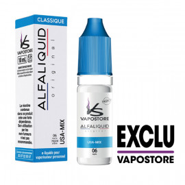 USA Mix Vapostore Alfaliquid 10ml