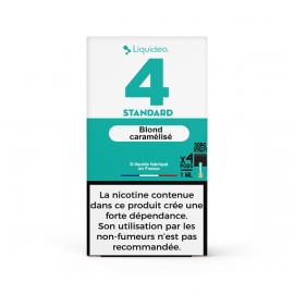 Pack de 4 Pods de 1ml Vanille Custard W Pod (W Cig)