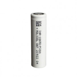 Accu P28A 18650 2800mah Molicel
