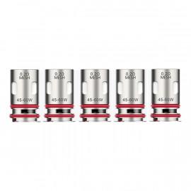 Pack de 5 resistances GTX-2 Vaporesso
