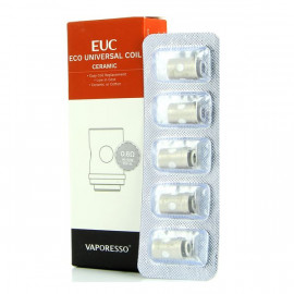 Pack de 5 résistances EUC Ceramic 0.5ohm Vaporesso