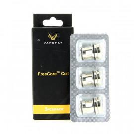 Pack de 3 résistances K1 0.2ohm Kriemhild II FreeCore Vapefly