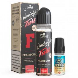 Framboise Easy2Shake 50/50 03mg 50ml Wonderful Tart Le French Liquide