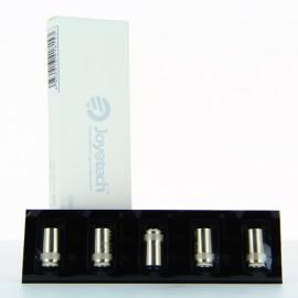 Pack de 5 resistances Cubis 1.5 ohms clapton Joyetech