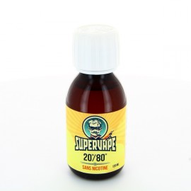 Base 120ml 20/80 00mg SuperVape