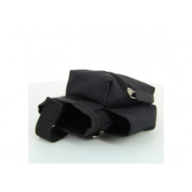 Sacoche rangement ceinture multi fonction tissu Noir