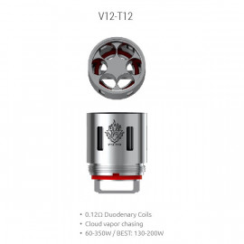 Pack de 3 resistances V12 T12 TFV12 Smoktech