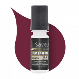 Fruits Rouges E Saveur 10ml 00mg