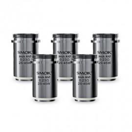 Pack de 5 résistances Stick AIO 0.23ohm Smoktech