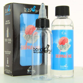 Pack Dopamine ZHC Bordo2 Oh My God 100ml 00mg + fiole vide 60ml graduee