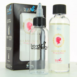 Pack La Baronne ZHC Bordo2 Oh My God 100ml 00mg + fiole vide 60ml graduee