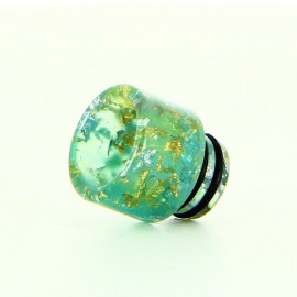 Drip Tip 510 Epoxy Resin Floral