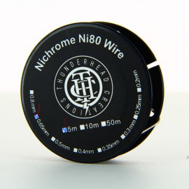 Nichrome 80 Wire 22ga 0.65mm Bobine 5m Thunderhead