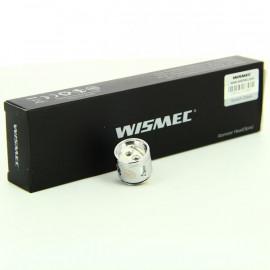 Pack de 5 résistances Dual WM02 0.15ohm Gnome Wismec