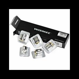 Pack de 5 résistances Triple WM03 0.2 Gnome Wismec