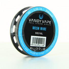 Bobine Mesh Wire SS316L 1.2ohm Vandy Vape