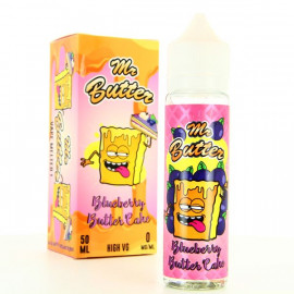 Blueberry Butter Cake ZHC Mix Series Mr Butter 50ml 00mg + Booster Nic Up