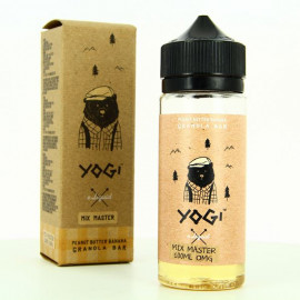 Peanut Butter Banana ZHC Mix Series Yogi E Liquid 100ml 00mg