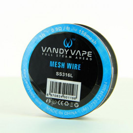 Bobine Mesh Wire SS316L-150 Vandy Vape