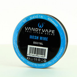 Bobine Mesh Wire SS316L-400 Vandy Vape