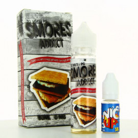 Chewy Coconut Cookies and White Chocolate Smore Smores Addict 50ml 00mg