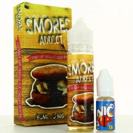 Churros and Vanilla Ice Cream Smore Smores Addict 50ml 00mg