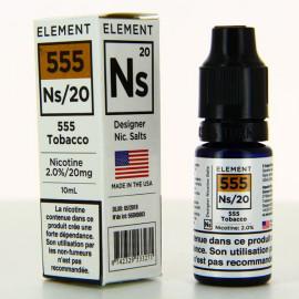 Classique 555 Nic Salts Element 10ml 20mg