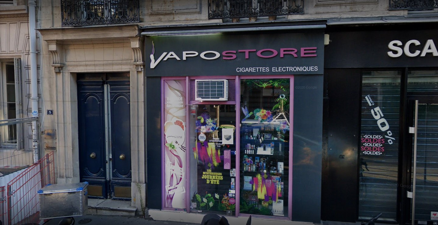 Magasin de cigarette electronique Paris 09 (Victoire)