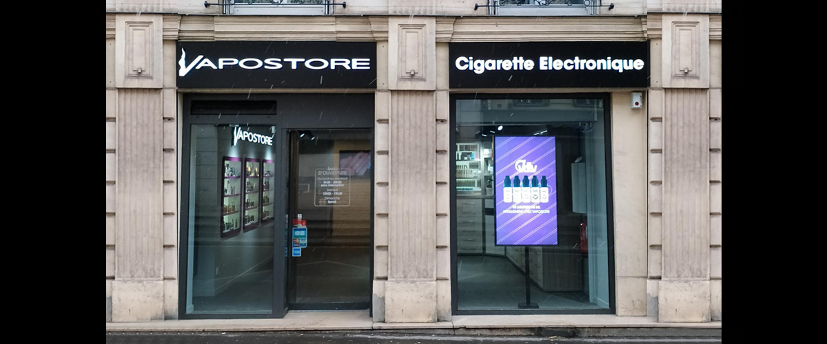 Magasin de cigarette electronique Paris 10 (Lafayette)
