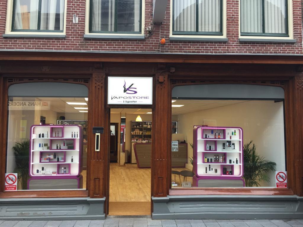 E-sigaret winkel in Leiden