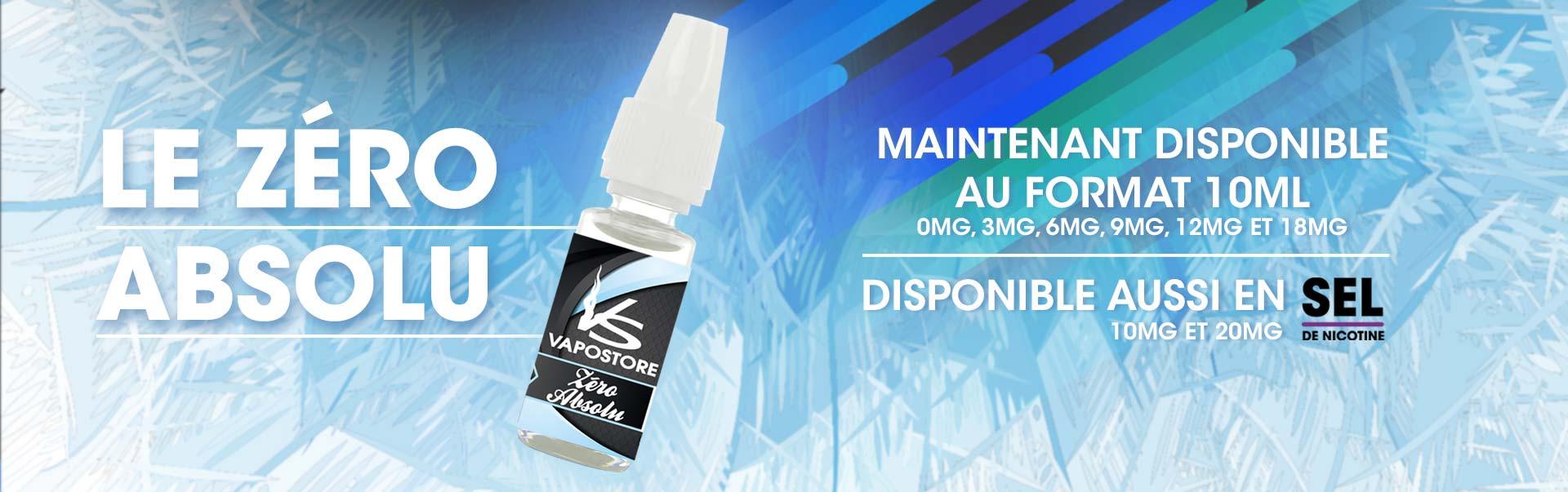 Un must-have pour tous les amateurs de menthol.