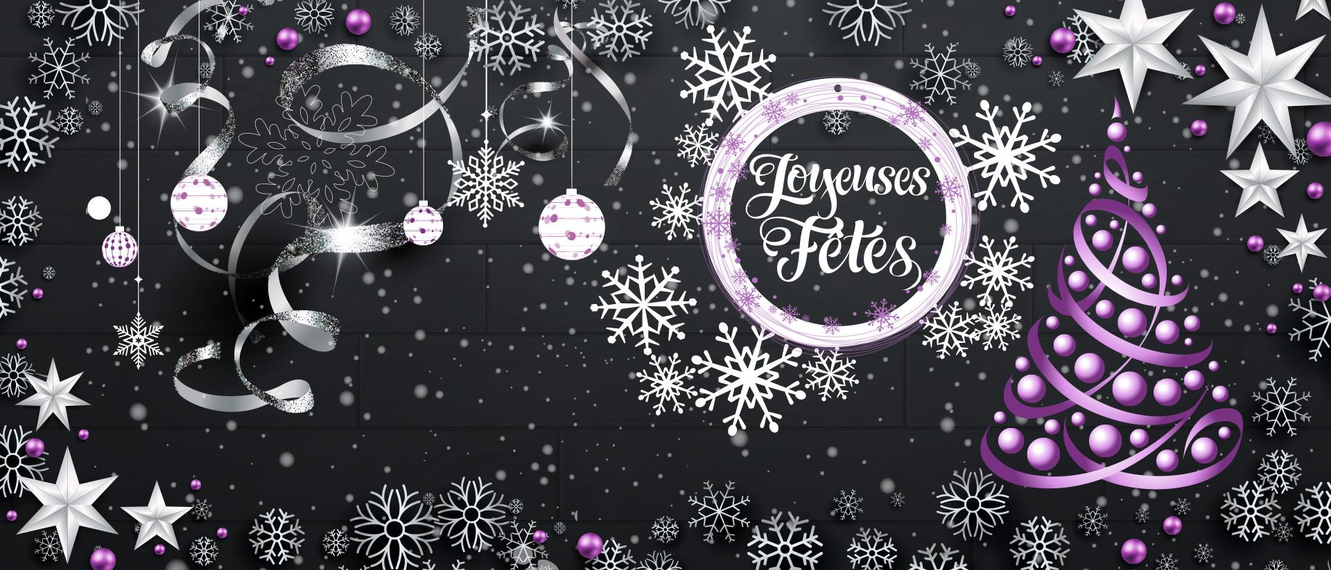 vous souhaite de joyeuses fêtes