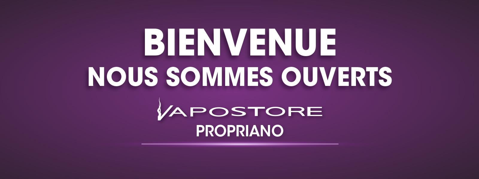 Ouverture boutique Vapostore Propriano