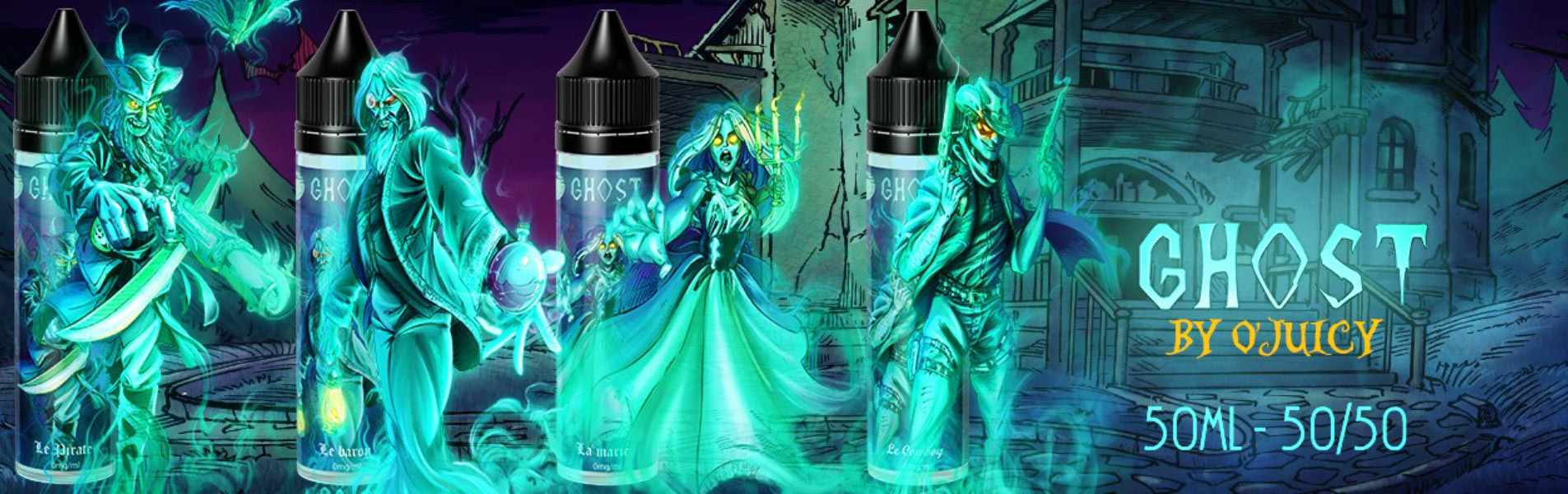 La gamme Ghost de O'Juicy