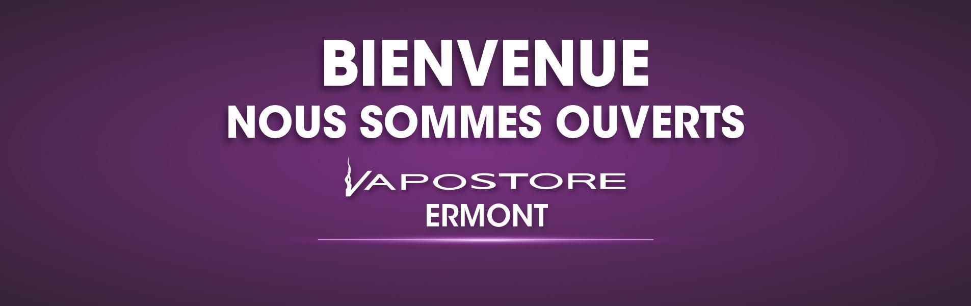 Ouverture boutique Vapostore Ermont