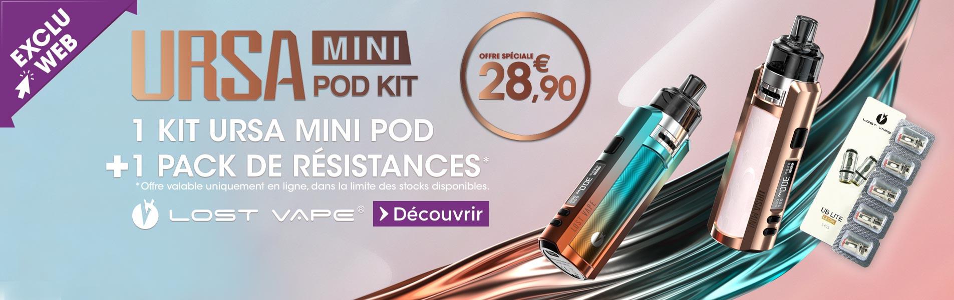 Kit Ursa Mini Pod : Petit, léger et design